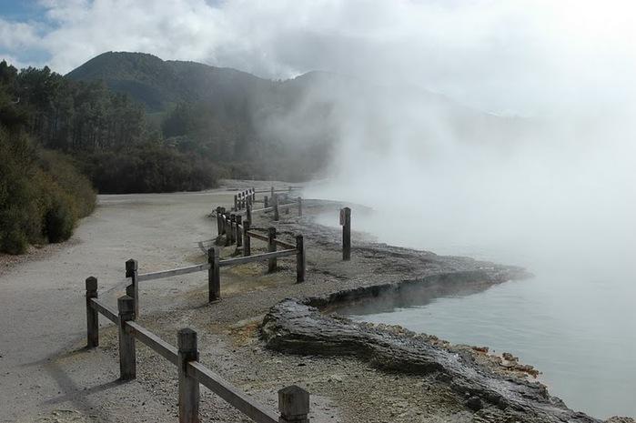 """Священные Воды, или """"Wai-O-Tapu"""" в Новой Зеландии. 20518"""