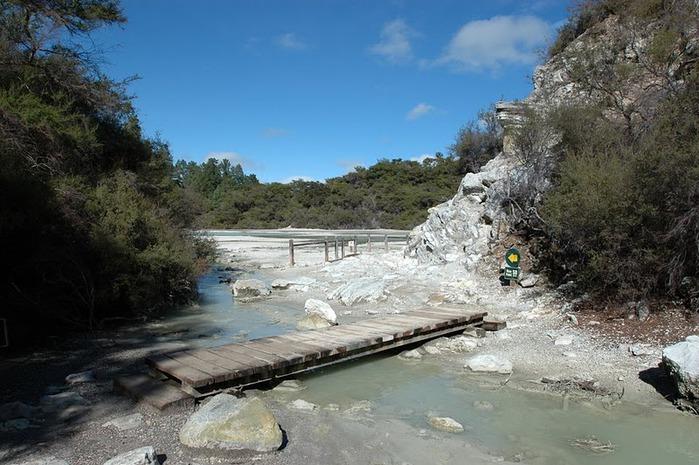 """Священные Воды, или """"Wai-O-Tapu"""" в Новой Зеландии. 25900"""