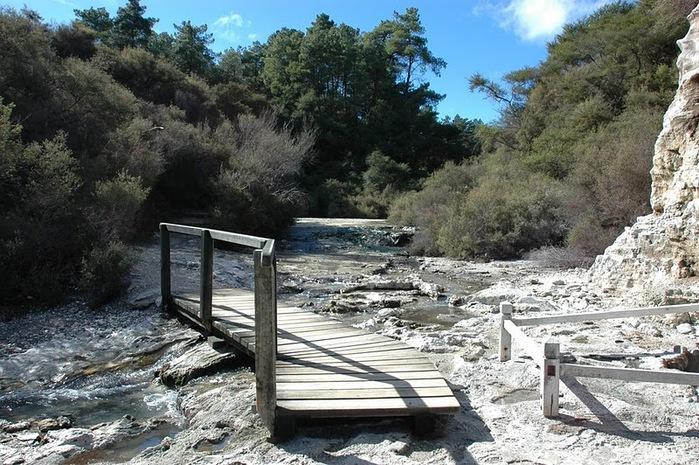 """Священные Воды, или """"Wai-O-Tapu"""" в Новой Зеландии. 99586"""
