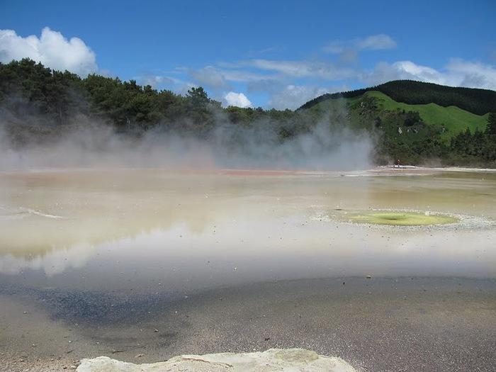 """Священные Воды, или """"Wai-O-Tapu"""" в Новой Зеландии. 37779"""