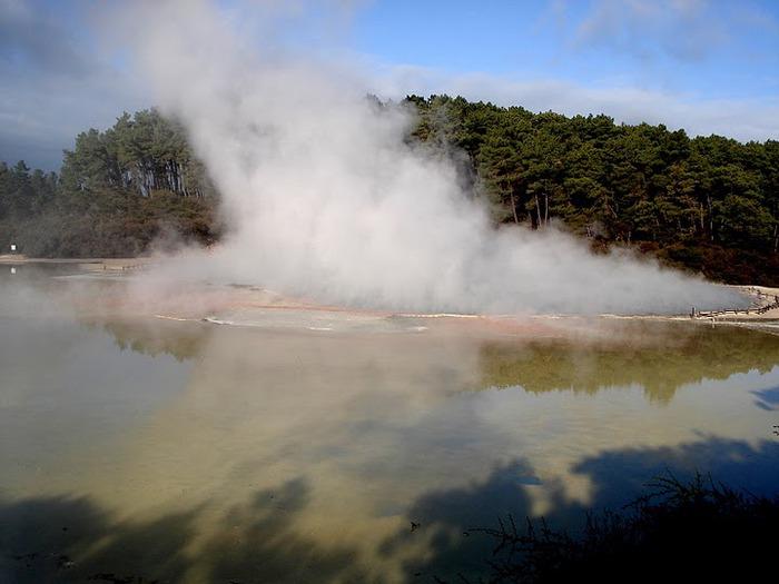 """Священные Воды, или """"Wai-O-Tapu"""" в Новой Зеландии. 75884"""