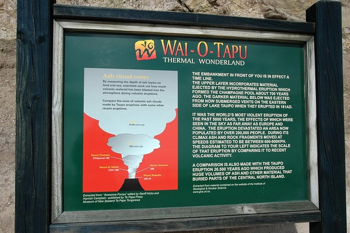 """Священные Воды, или """"Wai-O-Tapu"""" в Новой Зеландии. 53983"""