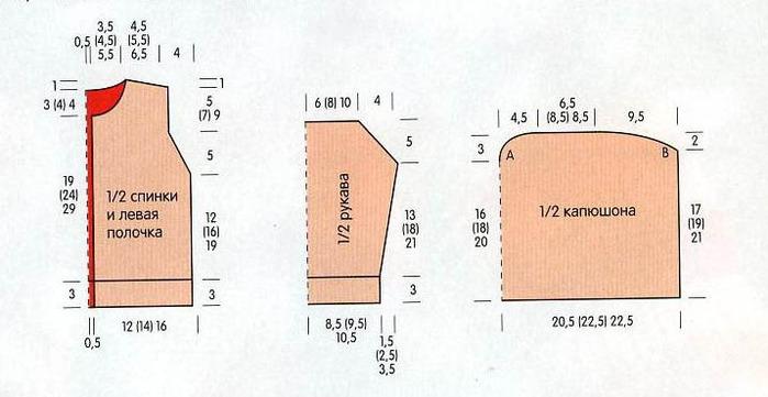 Для вязания яркой вязаной кофточки для малыша нам потребуется.  Яркая вязаная кофточка для малыша.  100 (150) 200 г...