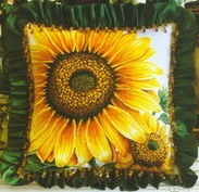 Dome Sunflower Pillow (183x177, 17Kb)