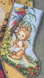 EMS Kangaroo Baby Stocking (172x300, 36Kb)