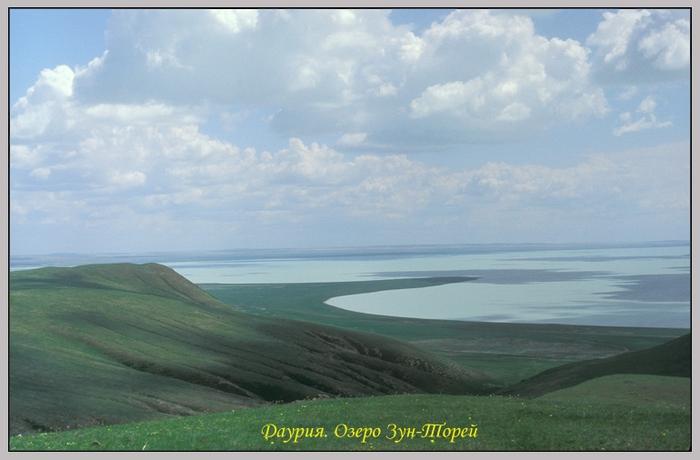 Забайкалье. Даурия. Озеро Зун-Торей (700x460, 198Kb)