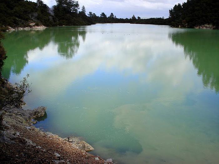 """Священные Воды, или """"Wai-O-Tapu"""" в Новой Зеландии. 33387"""