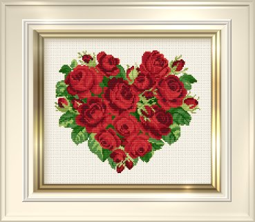 _002 Heart of Roses (369x322, 27Kb)