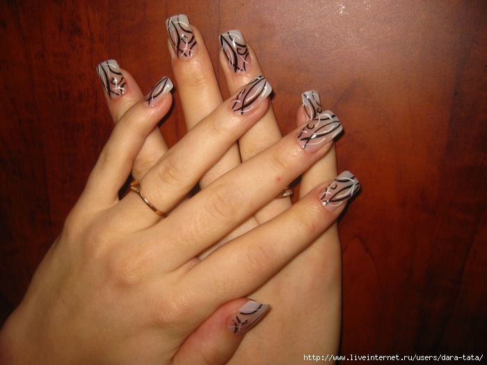 новые дизайны ногтей: