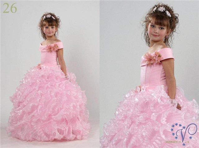 платья девочек 6