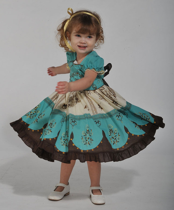 Детские платья на новый год сшить