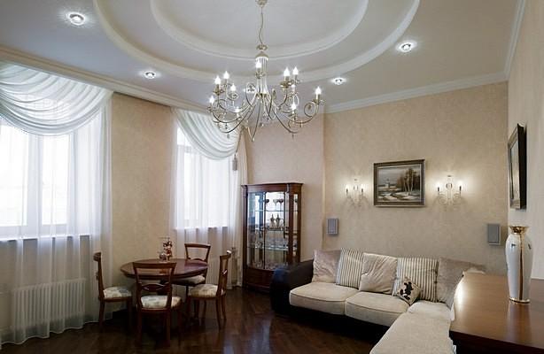 гостиная в квартире фото
