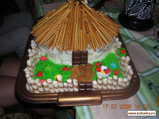 Домик рецепт с фото пошагово