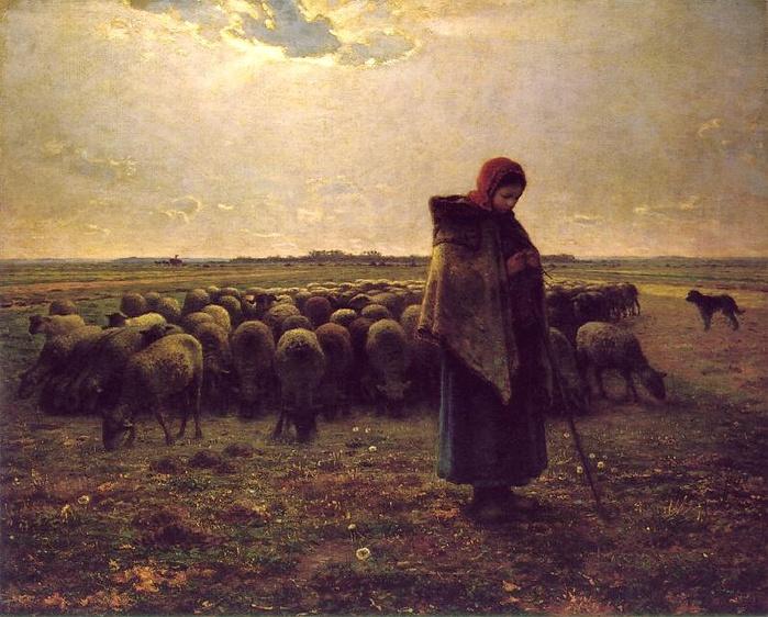 2010239_Jean-Francois_Millet_Shepherdess_with_her_flock_1864 (700x562, 173Kb)