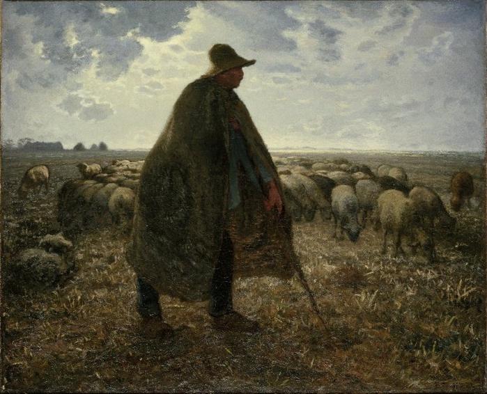 2010239_Jean-Francois_Millet_Shepherd_Tending_His_Flock_1860-63 (700x566, 182Kb)