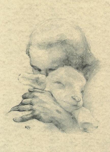 2010239_Helena_Wilkinson_Jesus_and_the_Lamb (433x600, 209Kb)