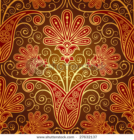 stock-vector-pattern-with-paisley-and-flowers-27632137 (450x470, 174Kb)