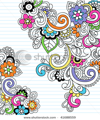 stock-vector-hand-drawn-psychedelic-paisley-notebook-doodles-on-lined-paper-background-vector-illustration-41688559 (392x470, 138Kb)