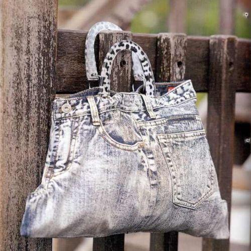 Вторая жизнь старых джинсов. сумки. викулик25Комментарии.  Tanianico.