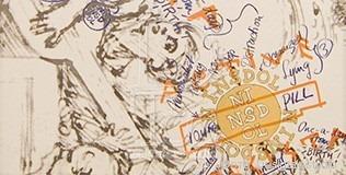 Дизайнерская плитка от знаменитых кутюрье 020