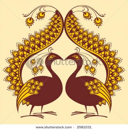 stock-vector-abstract-ornament-bird-peacock-clip-art-2581031 (450x457, 108Kb)