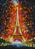 PARIS -EIFEL TOWER LIGHTED (144x200, 21Kb)