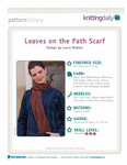 Превью Leaves-on-the-Path-Scarf_Page_1 (542x700, 160Kb)