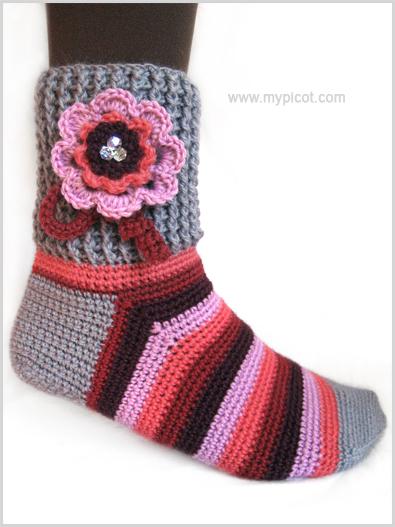 crochet-sock-001 (395x527, 157Kb)