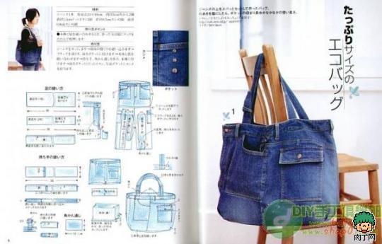Джинсовая сумка своими руками выкройки