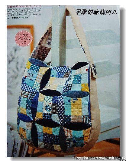 Лоскутная сумка (417x530, 73Kb)