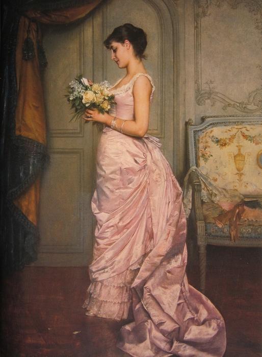 Auguste  Toulmouche (French, 1829-1890) – Toulmouche Le Billet (514x700, 132Kb)