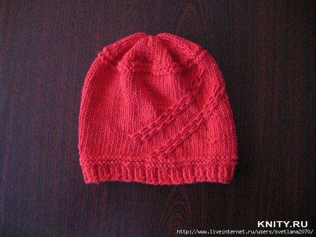 Женские шапки тюрбан спицами схемы и описание :: Вязание.