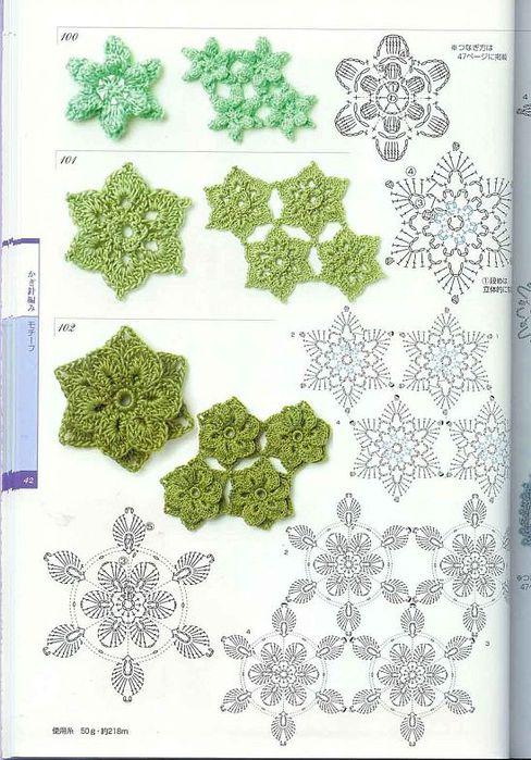 цветочки схемка1 (488x700, 87Kb)