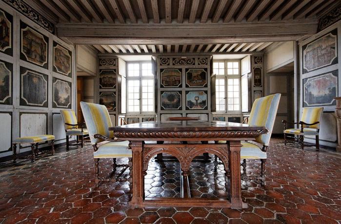 Замок Бюсси-Рабютен - Шато де Бюсси-ле-Гран 41241