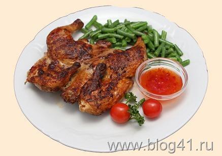 Маринованный цыпленок-барбекю. (437x308, 37Kb)