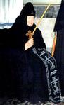 Превью Схимонахиня Мария (Матукасова) в день пострига в великую схиму. Оптина пустынь, 5 января 1998 года. (190x310, 54Kb)