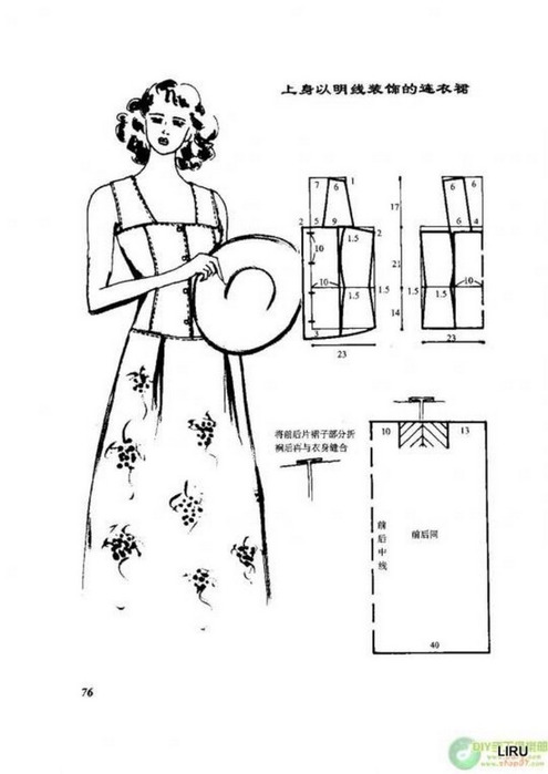 Как сшить сарафан : выкройки и мастер-классы