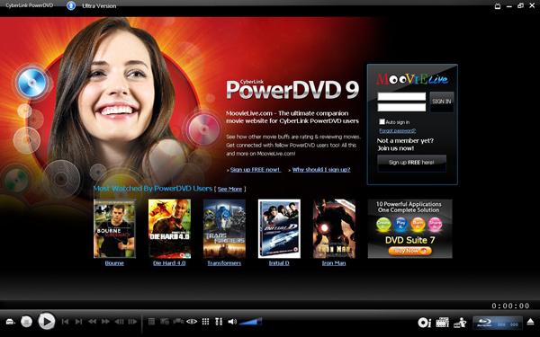 Cyberlink PowerDVD скачать бесплатно русская версия.