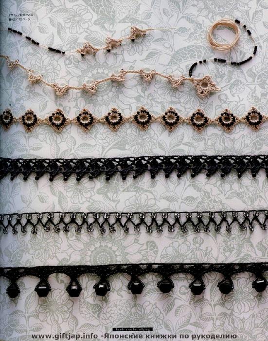 Схемы тесьмы из бисера
