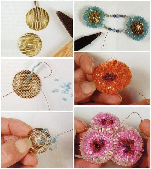 схема плетения розы из бисера - Практическая схемотехника.