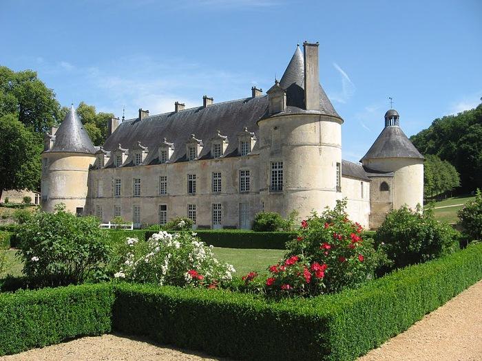 Замок Бюсси-Рабютен - Шато де Бюсси-ле-Гран 11580