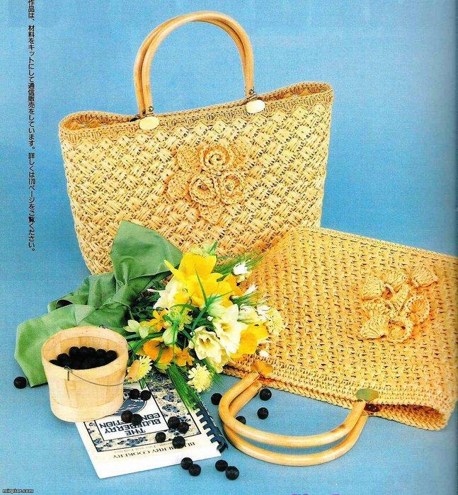 俄网钩织包(79) - 荷塘秀色 - 茶之韵