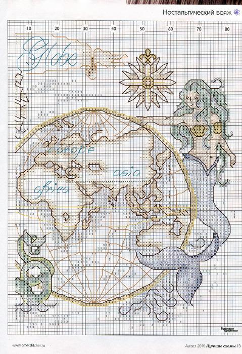 карта океанов - схема2.