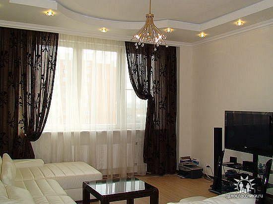 Дизайн черных штор