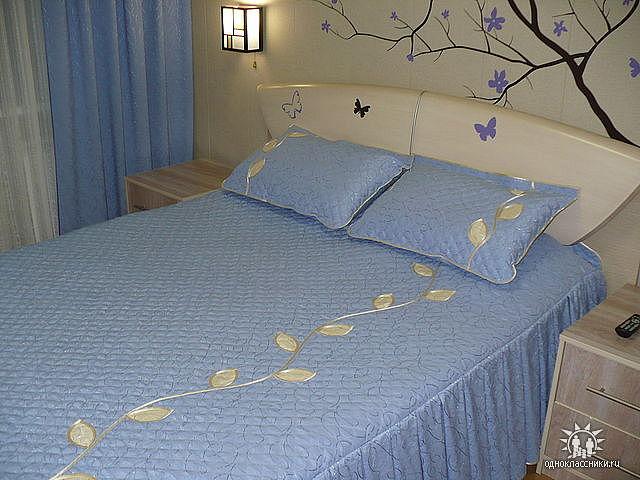 Сшить покрывало на кровать своими руками мастер класс