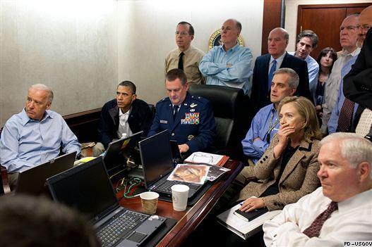 Команда Обамы смотрит про Бин Ладена (527x351, 39Kb)
