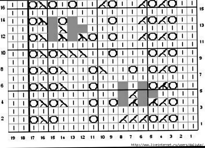 Dayflower Lace chart (700x505, 255Kb)