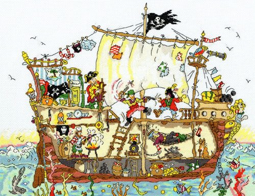 Pirate Ship (500x384, 111Kb)