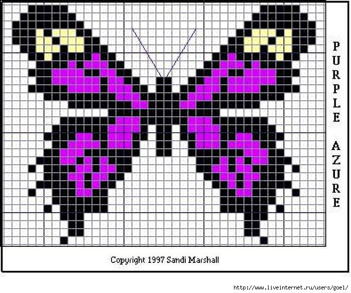 бабочка из бисера видео - Лучшие схемы и описания для всех.