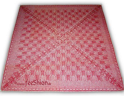 [Вязание квадратного платка